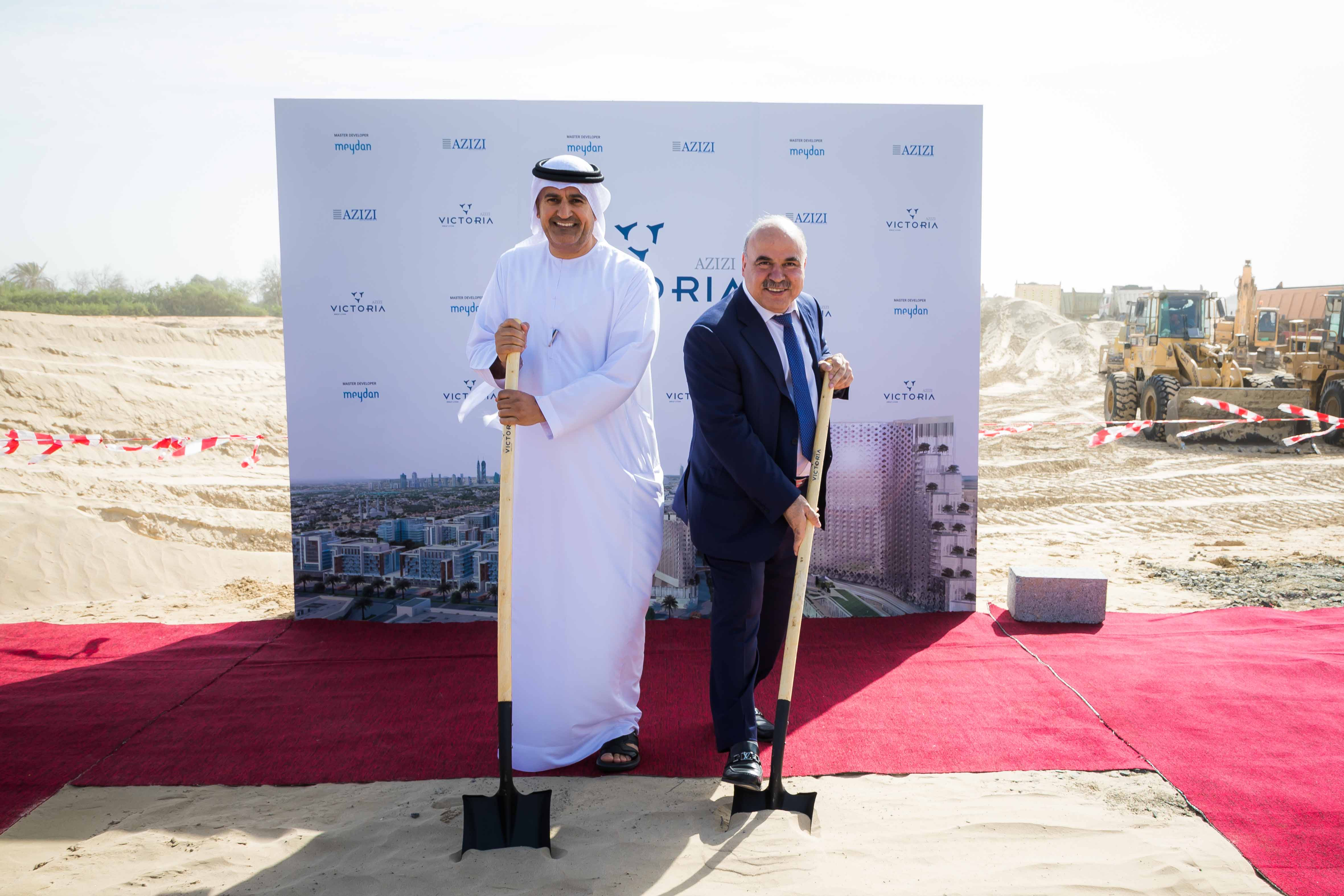 Ground Breaking Ceremony-Azizi Victoria