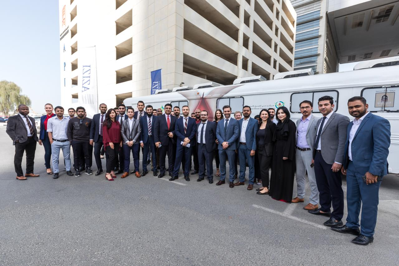 Azizi Developments joins hands with Dubai Blood Donation Centre by holding a blood donation campaign
