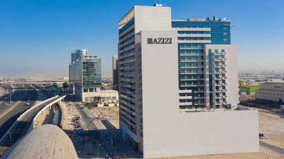 Azizi Developments completes 479-unit Aura in Downtown Jebel Ali