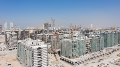 First buildings reach 78% at Azizi Developments' Riviera