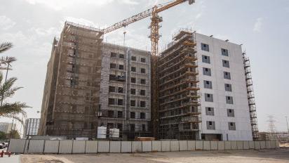 Azizi Developments' Berton in Al Furjan records 65% construction milestone