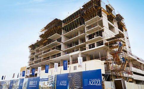 Al Furjan project construction
